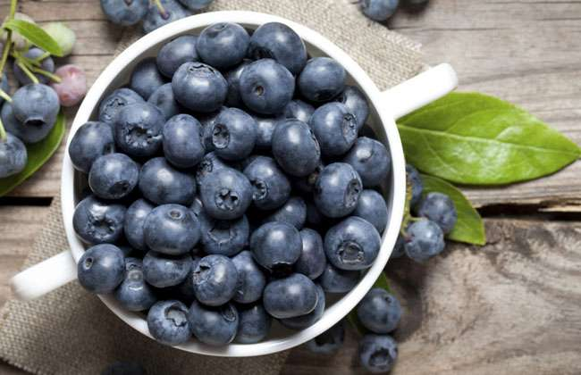 Fiber in Blueberries