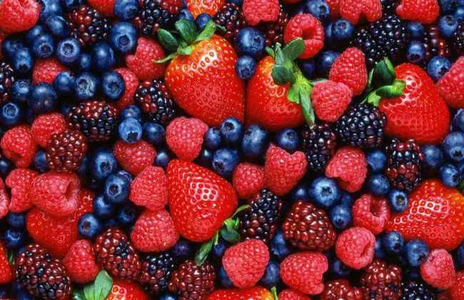 are berries acidic