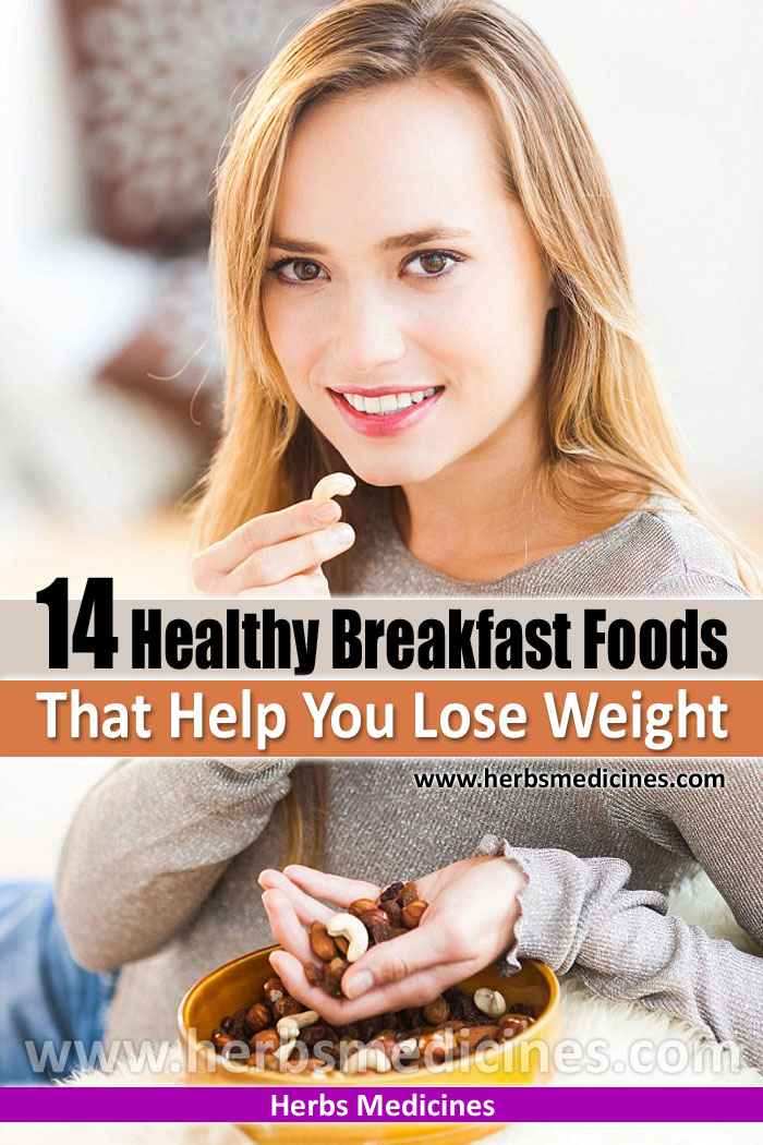 14 Healthy Breakfast Foods That Help You Lose Weight